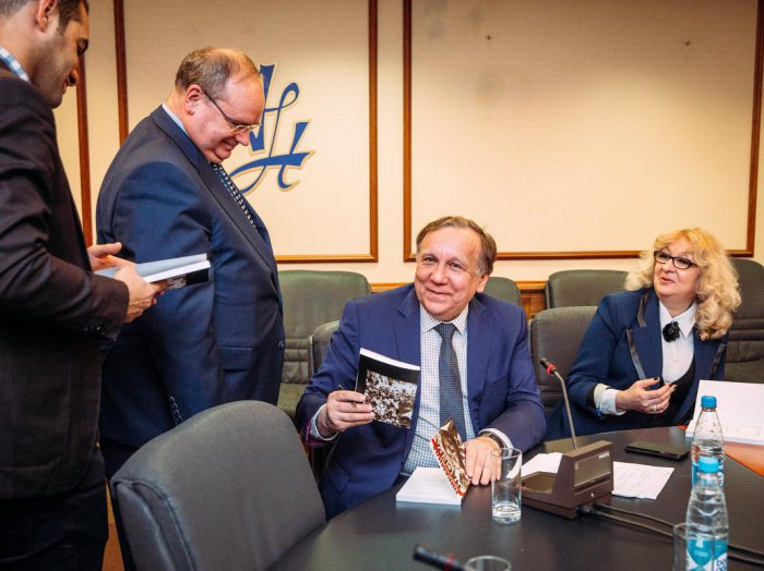 Книгу «Пирамида Насера. Президент и его время» презентовали в Москве (ФОТО)