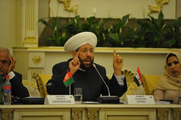 «Пророки создавали гражданские государства, а не религиозные, те государства, которые объединяют всех своих сынов общим законом», — выступление Верховного муфтия Сирии