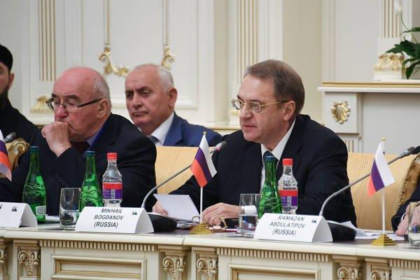 «Цель Группы состоит в сближении с народом России мусульманских стран», — выступление Михаила Богданова