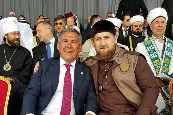 Рамзан Кадыров и Рустам Минниханов прибыли на торжественный прием участников Группы стратегического видения «Россия — Исламский мир»