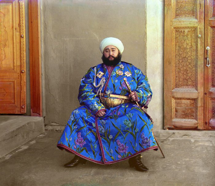 1911 г. Узбекистан. Эмир Бухарский