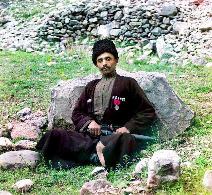 1911 г. Дагестан. Житель села Аракани