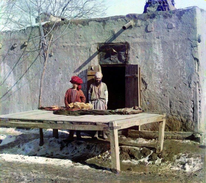 1907 г. Узбекистан. Пекарня в Бухаре.