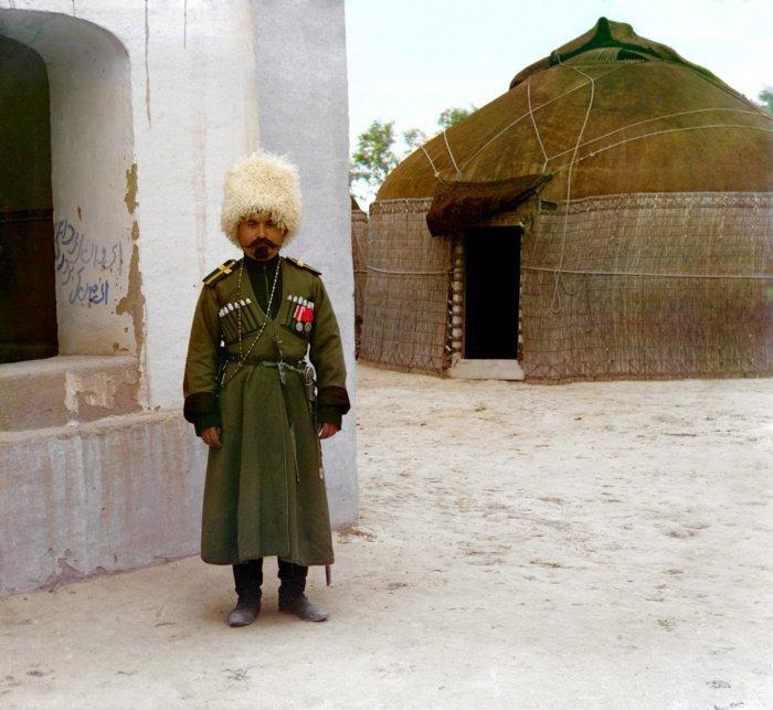 1911 г. Туркменистан. Джигит Ибрагим.