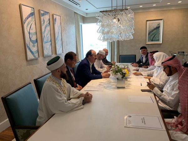 Заседание ГСВ «Россия – Исламский мир» может пройти совместно со Всемирной исламской лигой и ОИС