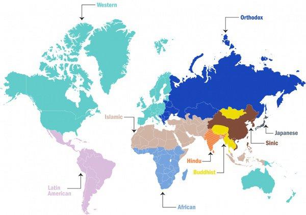 Культурная глобализация и судьба традиционной цивилизации: американский и российский подходы