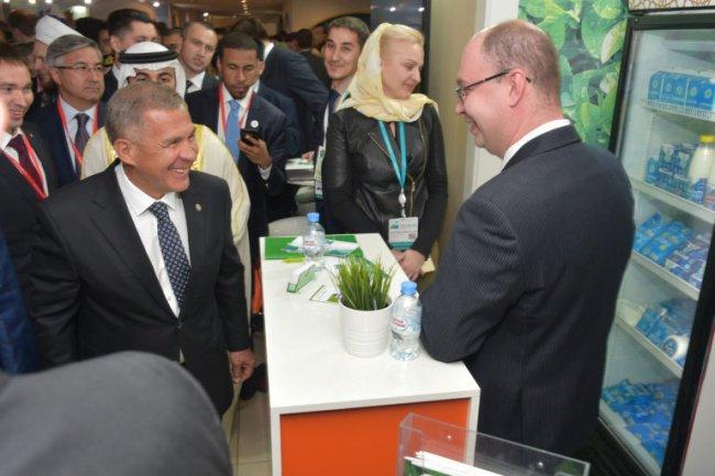 Президент РТ на выставке Russia Halal Expo - 2018