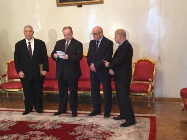 Ливанский политический деятель Вассим Халиль Каладжия получил премию имени Примакова