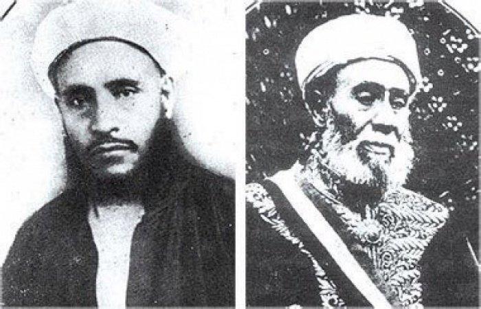 Старейшие фото Абдулькадира аль-Шайби (справа) и его сына Абдуллы аль-Шайби