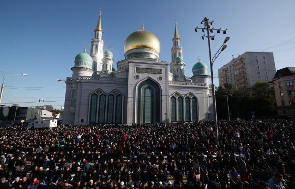 Курбан-байрам 2019 в России (ФОТО)