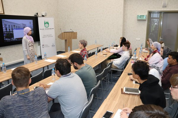 Photo report from the second day of the International summer school