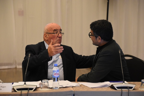 تقرير مصور من اليوم الثاني لمنتدى الصحفيين والمدونين المسلمين في سانت بطرسبرغ
