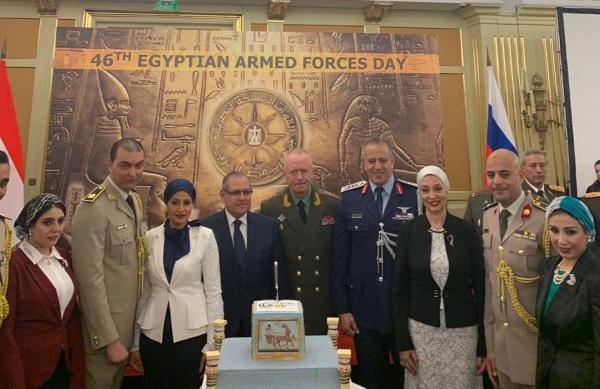 В Москве отметили 46-ю годовщину со дня основания Вооруженных сил Египта