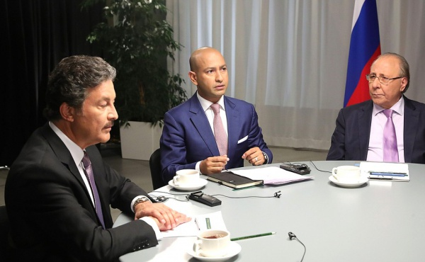 Russian President interview with Al Arabiya, Sky News Arabia and RT Arabic