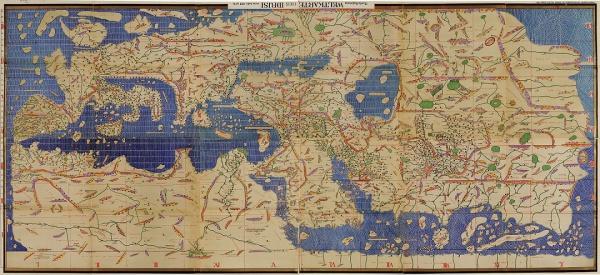 Перевёрнутые карты, анимация битвы, или как мусульмане изменили топографию
