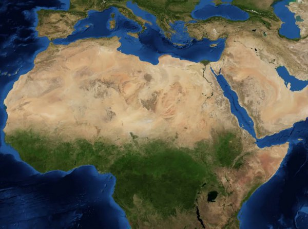 Северная Африка 2019-204