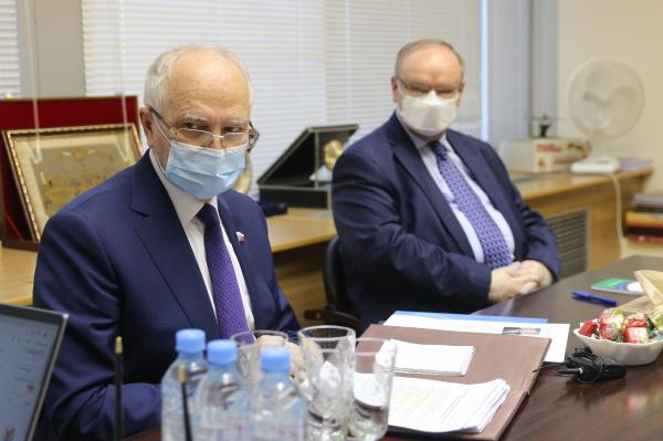 Фарит Мухаметшин встретился с представителем Генерального секретаря ООН по Альянсу цивилизаций